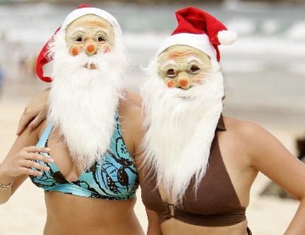 Natale in spiaggia