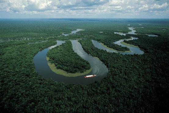Uno di più grandi fiumi del mondo