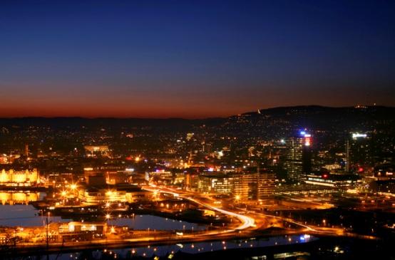 Oslo di notte