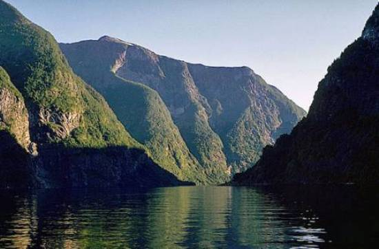 Panorama dei Fiordi