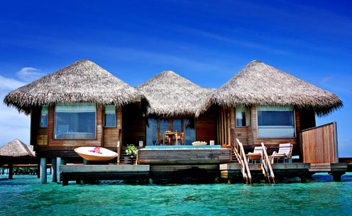 Panoramica dei bungalow