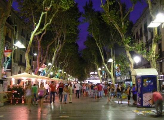 La famosa via di Barcellona