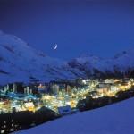 Les Deux Alpes di notte