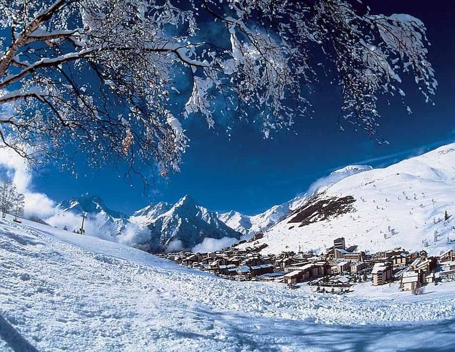Sciare sulle Deux Alpes Francesi