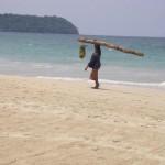 Una splendida spiaggia del Myanmar
