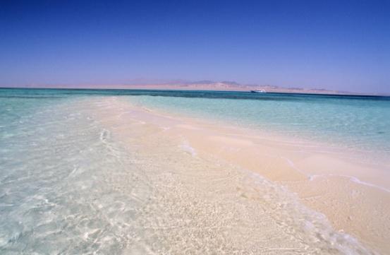 Le acque cristalline del Mar Rosso