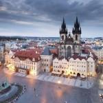 La città di Praga