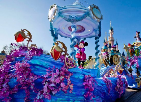 Disneyland-Paris Sfilate