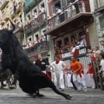 Festa di San Fermín: corsa dei tori