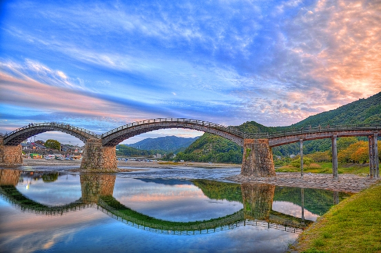 Kintal Bridge – Iwakuni (Giappone)