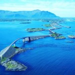 Atlantic Road in Norvegia
