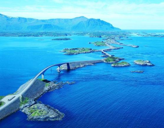 Norvegia: Atlantic Road