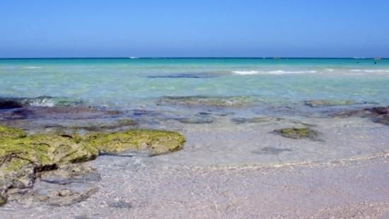 Il mare cristallino di djerba