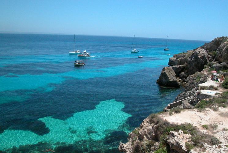 La farfalla del mediterraneo:l'isola di Favignana