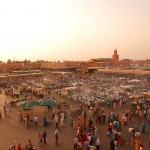 Marocco_Marrakech_medina_by wikipedia