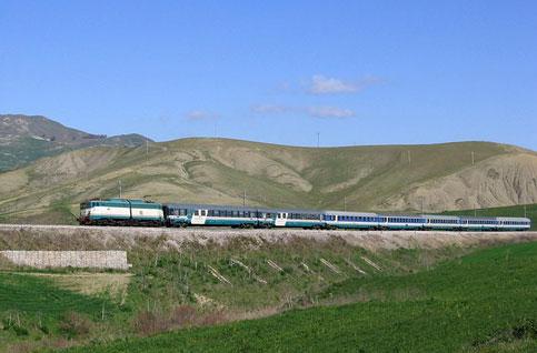 sicilia treno