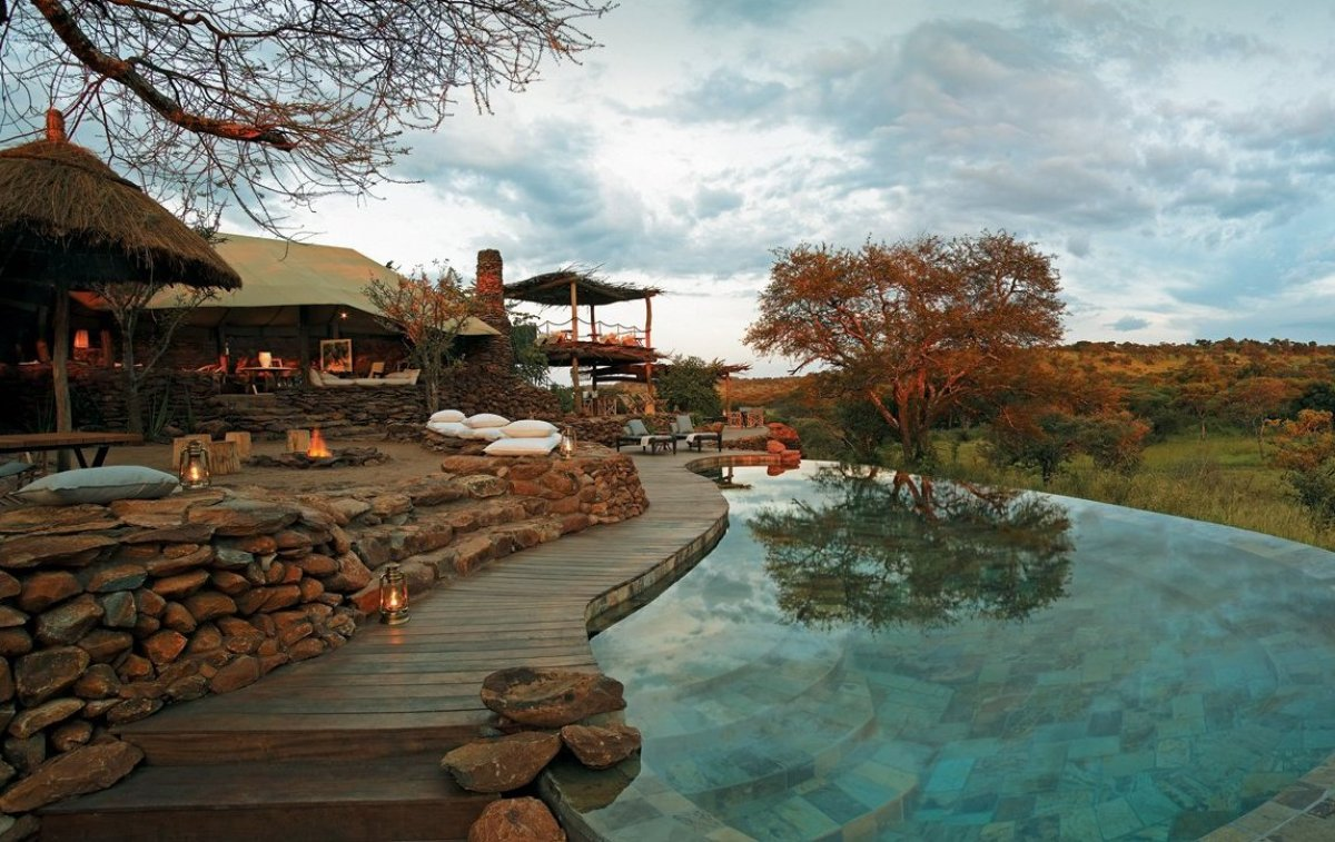 Una notte nell'hotel più bello del mondo: in Tanzania