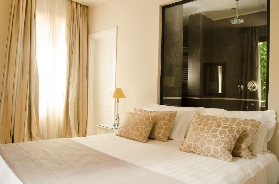camera deluxe al boutique hotel Monte Cenci Roma