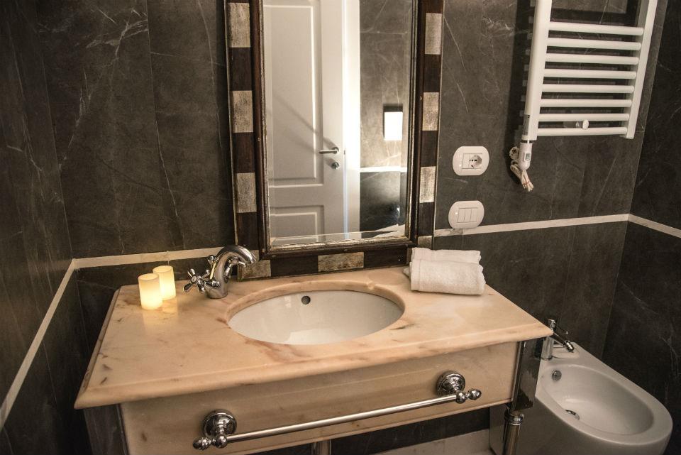 Hotel Monte Cenci Roma - bagni di design