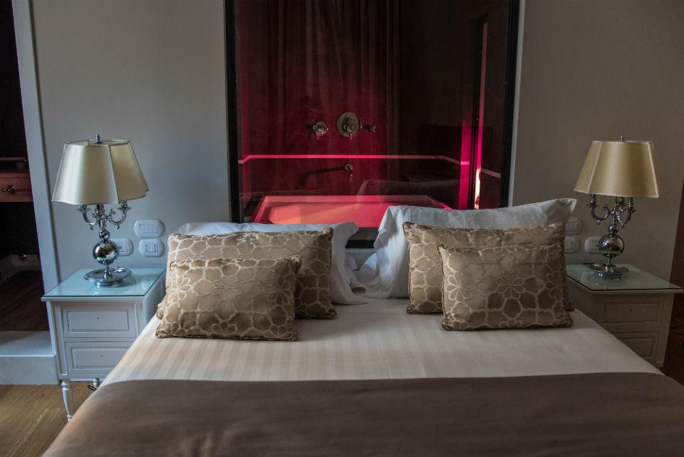 camera deluxe con vasca romantica - Hotel Monte Cenci
