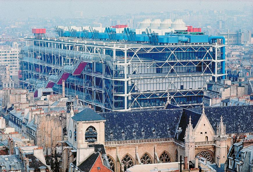 Parigi - Il Centre Pompidu