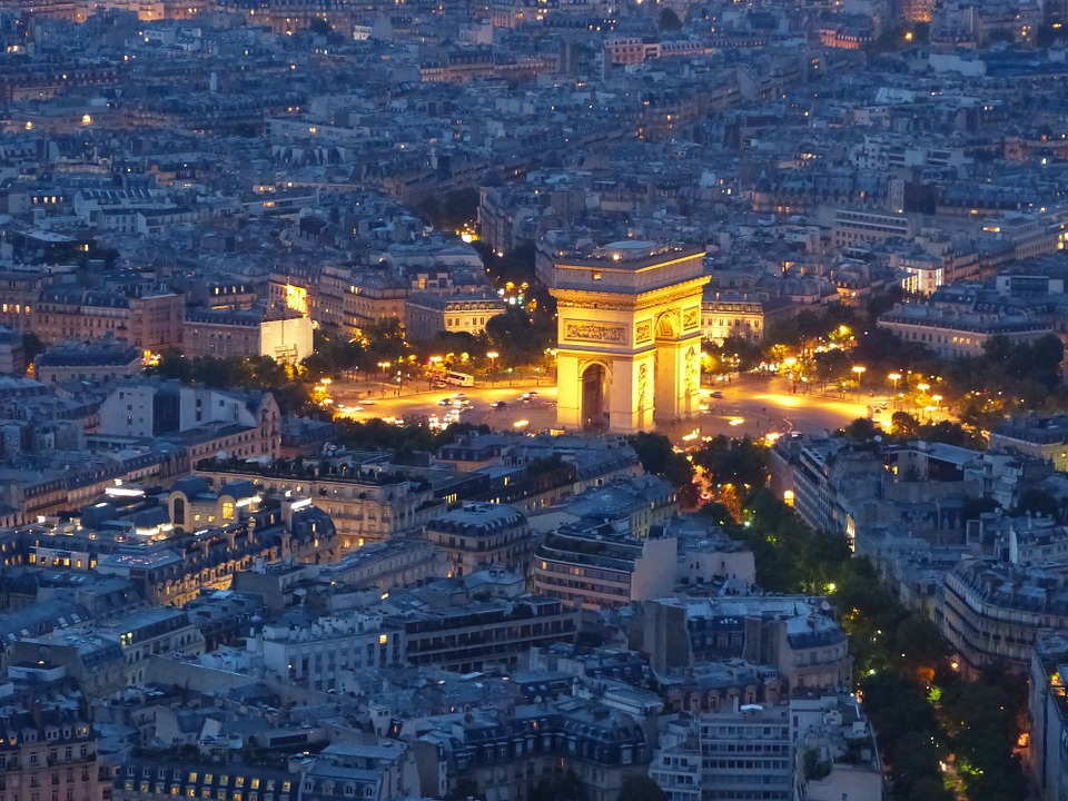 Cosa vedere a Parigi - L'Arco di Trionfo