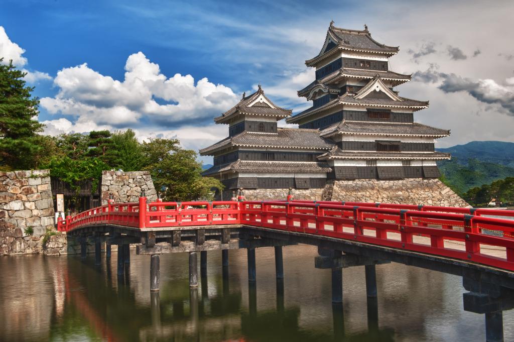 uno dei castelli più belli al mondo - Castello di Matsumoto, Giappone