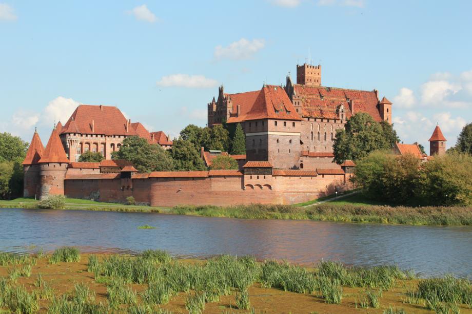 Castello di Malbork Polonia