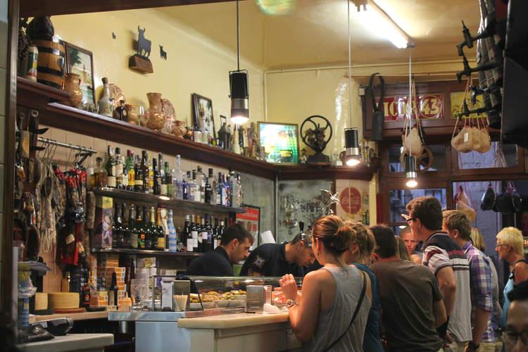 uno dei migliori tapas bar di Barcellona