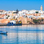 River Bou Regreg Seafront And Kasbah In Medina Of Rabat, Morocco