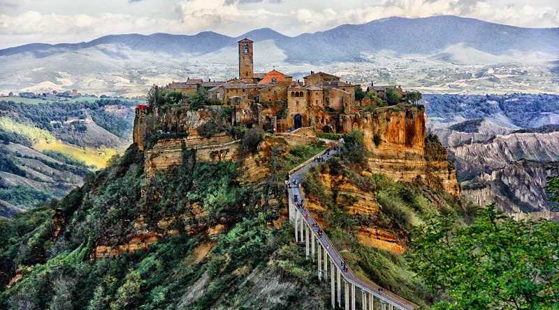 Civita di Bagnoregio un borgo magico nel Lazio