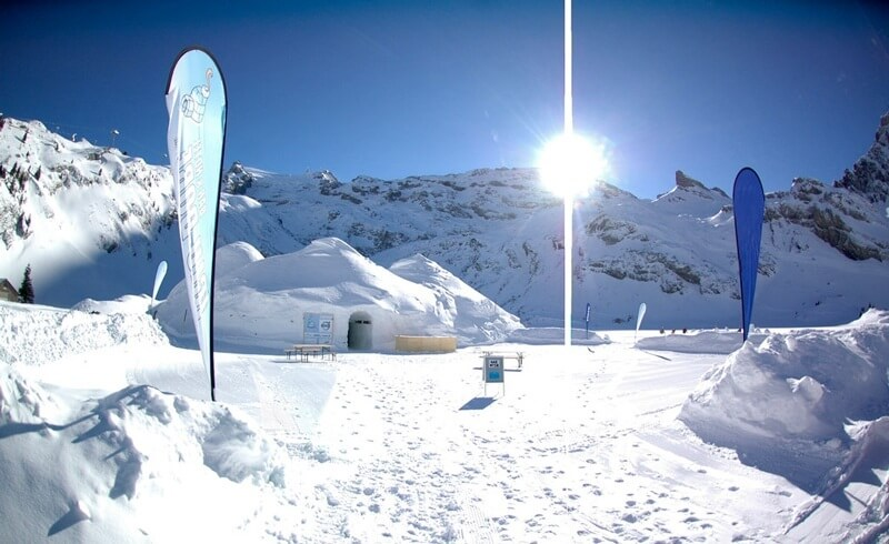 Hotel Igloo in Svizzera